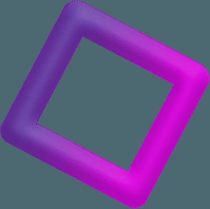 Парящая фигура квадрат
