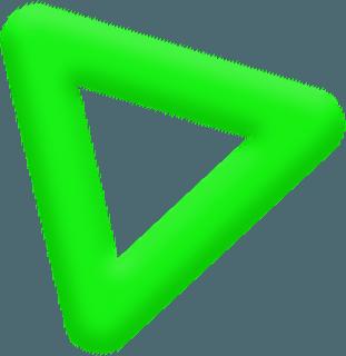 Парящая фигура треугольник