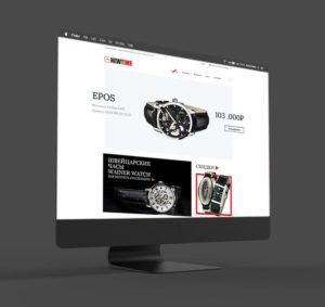 Разработка интернет магазина New Time
